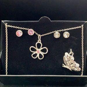 Pendant and earring gift set
